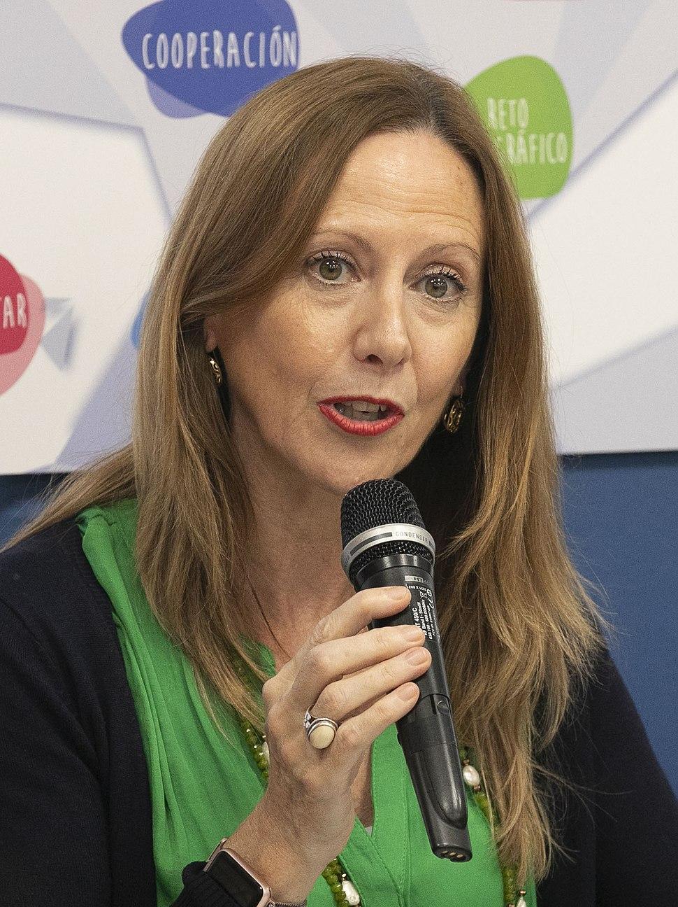 (Marta González Vázquez) Reunión Foro Social Partido Popular en sede distrito Salamanca contra la violencia de género. (44167499810) (cropped)