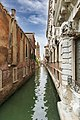 (Venice) - Rio de San Barnaba viewed from Private bridge Ca' Rezonico.jpg