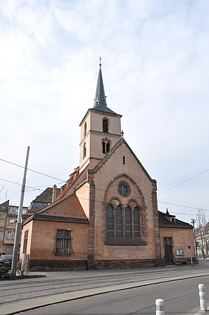 Saint Nicholas Church, Strasbourg - Front view