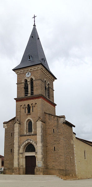 Église Saint-Pierre de Rancé (Ain).