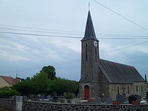 Église Saint-Pierre de Vidouville.