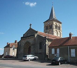 Bizeneuille - Church
