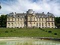 Épinay-Champlâtreux (95), château de Champlâtreux, façade principale ouest.jpg