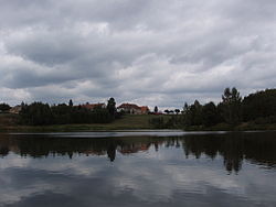 Červený Hrádek, Mlýnský rybník.jpg