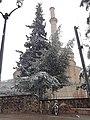 Χιονισμένος Περίβολος Ροτόντας και Μιναρές.jpg