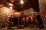 Бродильный цех производства напитков, воссозданный по гравюре XIX века.jpg