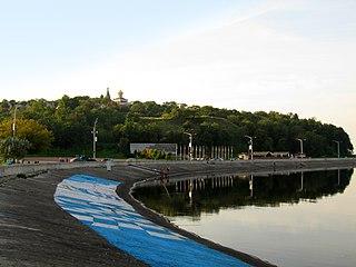 Vyshhorod city in Kyiv Oblast, Ukraine