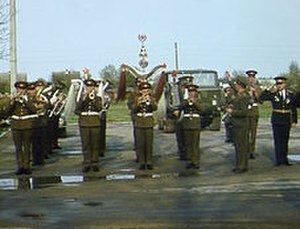 Military Band Service of the Armed Forces of Russia - The military band of the 79th Guards Motorized Rifle Regiment.