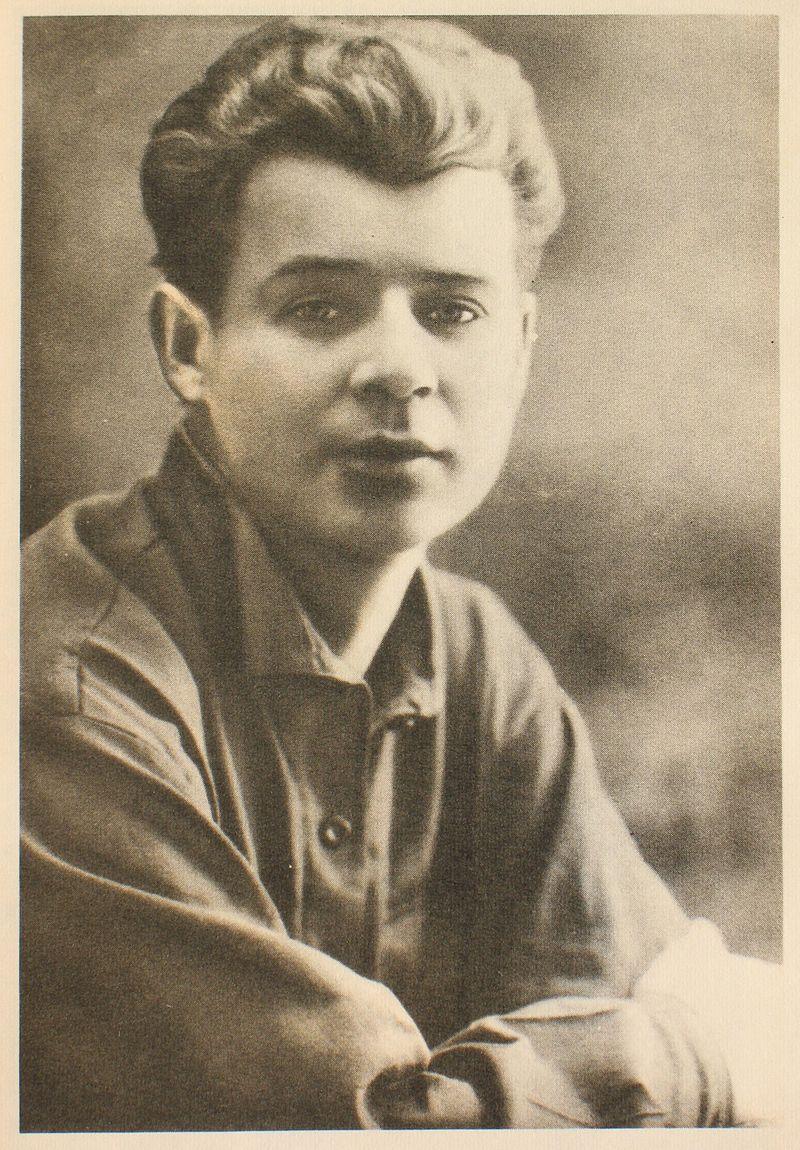Sergej Jesenin leta 1924. Vir: Wikipedija/Javna domena