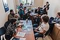 Илья Варламов подаёт документы в Омский избирком.jpg
