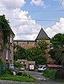 Луцьк - Оборонна башта з муром окольного замку P1070890.JPG