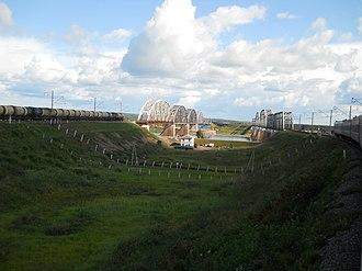Nerchinsky District - Bridges in Nerchinsky District