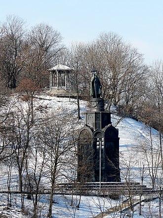 Saint Vladimir Monument - Image: Пам'ятник Володимиру Великому 1