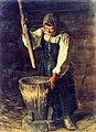 Протопопов А.Ф. - Старуха со ступой - 1878.jpg