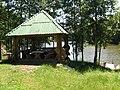 Рыболовная база под с.Чернотычи. Беседка. - panoramio.jpg