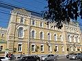 Рязанский государственный университет, старое здание, северное крыло.JPG