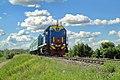 ТЭМ18-363, Казахстан, Западно-Казахстанская область, перегон Уральск-II - Уральск (Trainpix 134135).jpg