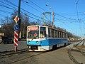 Трамвай № 1221 на проспекте Гагарина.jpg