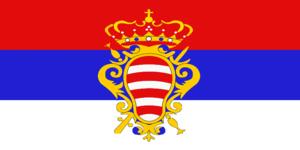 Flag of Dubrovnik - Image: Флаг Дубровницкой республики (1991)