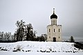 Церковь Покрова на Нерли со стороны Боголюбовского луга зимой.JPG