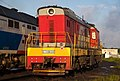 ЧМЭ3-3001, Россия, Архангельская область, станция Коноша-II (Trainpix 202739).jpg