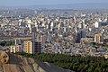 نمایی از شهر قم از بالای بلوار شهید عماد مغنیه.jpg