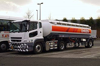 Mitsubishi Fuso Super Great - Super Great FP with Tanker