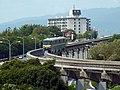 大阪モノレール 千里中央駅から Ōsaka Monorail - panoramio.jpg