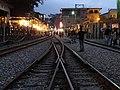 從鐵軌上遠望十分老街。 - panoramio.jpg