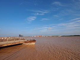 滚滚黄河入海流 - The Yellow River Entering the Sea - 2012.07 - panoramio.jpg