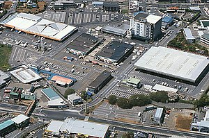 Narita Wholesale Market - Narita Wholesale Market viewed from the air, July 2006
