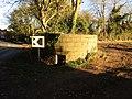 -2018-11-11 WWI pillbox, Bacton Road, North Walsham, Norfolk (2).JPG