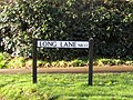 -2019-02-03 Street name sign, Long Lane, Southrepps.JPG