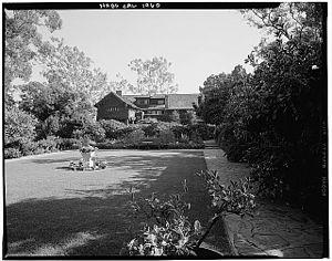 George W. Marston House - George Marston House (circa 1960)