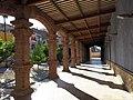 015 Museu de Tortosa, antic escorxador, façana est, porxo.JPG