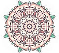 026 Pink and Green Medallion Page Ornament.jpg