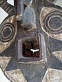 027 a1 detail BWA - (BAYIRI) PLANK MASK, Burkina Faso FRONT (168.CM) (9365610026).jpg