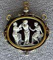 039 arte romana, le tre grazie, calcedonio, III sec dc..JPG