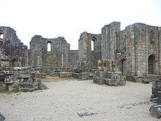 043 Les ruines de l'église abbatiale carolingienne de Landévennec 2.JPG