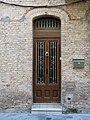 056 Cal Menutx (Mollerussa), portal.JPG
