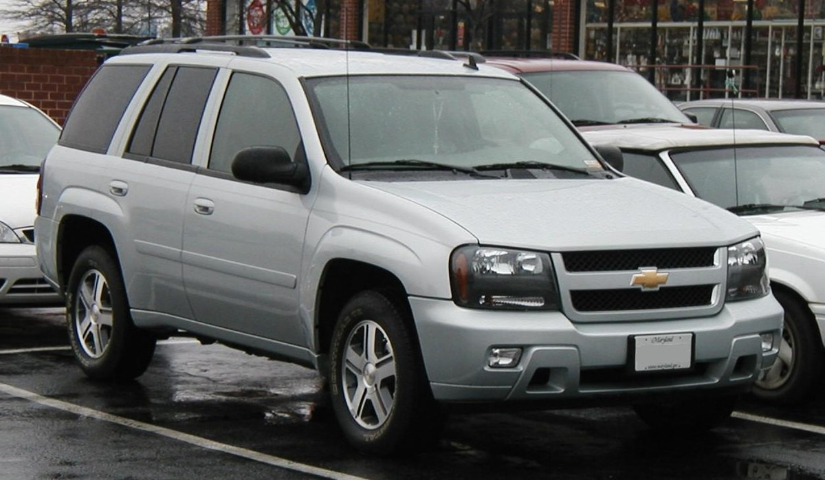 Chevrolet TrailBlazer – Wikipedia, wolna encyklopedia