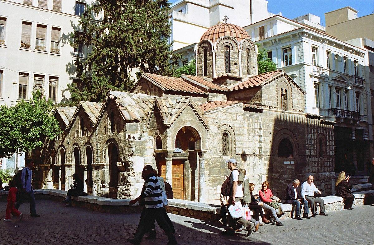 Church of Panagia Kapnikarea - Wikipedia