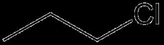 N-Propyl chloride - Image: 1 chloorpropaan
