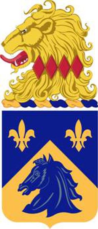 102nd Cavalry Regiment - Image: 102Cav Regt COA