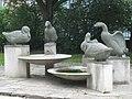 1160 Thalheimergasse Herbststraße 87-91 - Entenbrunnen von Margarete Bistron-Lausch 1957 IMG 2585.jpg