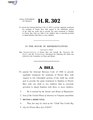 116th United States Congress H. R. 0000302 (1st session) - Child Tax Credit Equity for Puerto Rico Act of 2019.pdf