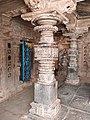 11th century Panchalingeshwara temples group, Kalyani Chalukya, Sedam Karnataka India - 97.jpg