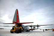 139th Expeditionary Airlift Squadron - C-130 McMurdo Station
