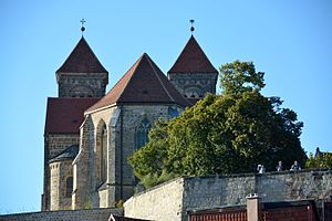 Quedlinburg Abbey - Image: 141019 Dom Quedlinburg