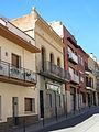 144 Carrer de Sant Nicasi (Gavà), amb l'edifici de Cal Nicanor.JPG